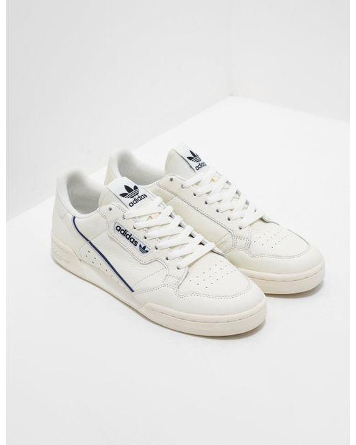 sale retailer e3148 43cba Adidas Originals - Multicolor Continental 80 Cream for Men - Lyst ...