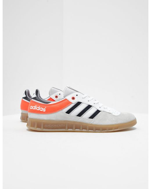 check out bf841 508f9 Adidas Originals - Mens Handball Top White for Men - Lyst ...