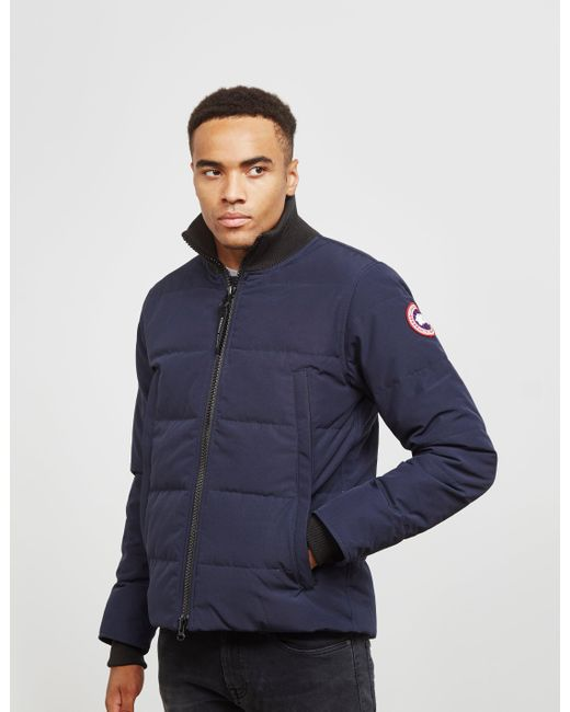 62690ac2e Canada Goose Mens Woolford Jacket Blue in Blue for Men - Lyst