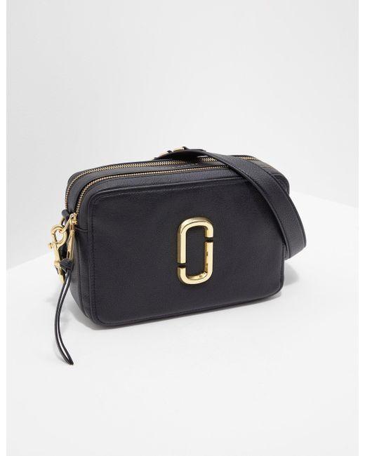 194ea4bcf358 Marc Jacobs Snapshot 27 Shoulder Bag Black in Black - Lyst