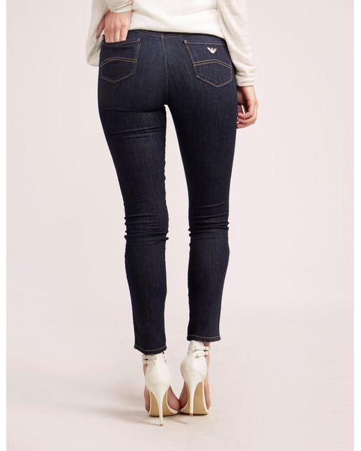 Armani Jeans | Blue J20 High Waist Jean | Lyst