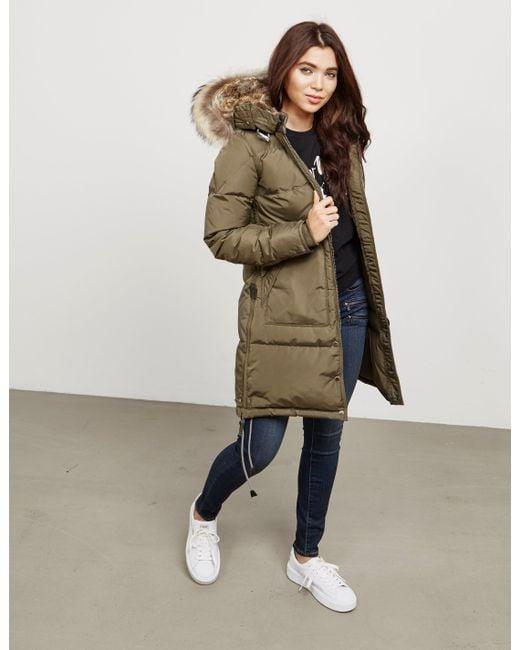 parajumpers long bear coat sale