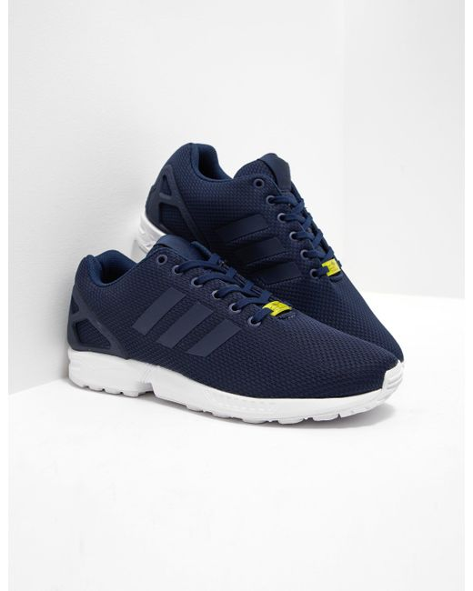 newest 4d3df 89503 ... low price adidas originals blue mens zx flux navy white navy white for  men 771e5 2abb5