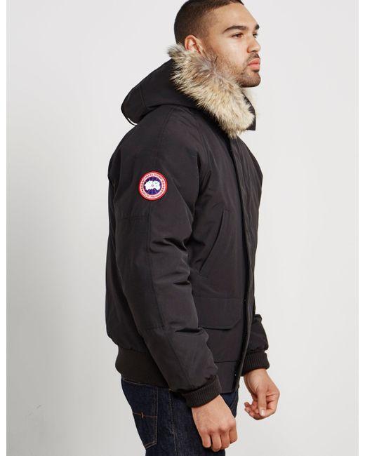 97f70f0bfef Canada Goose Men's Chilliwack Bomber Jacket in Black for Men - Save ...