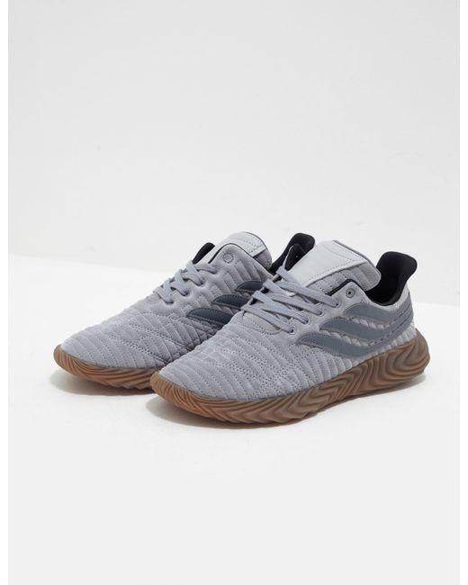 buy online f3b64 a5fec Adidas Originals - Gray Sobakov Grey for Men - Lyst ...
