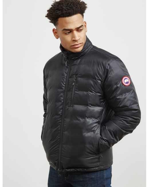 Canada Goose - Mens Lodge Jacket Black for Men - Lyst ...