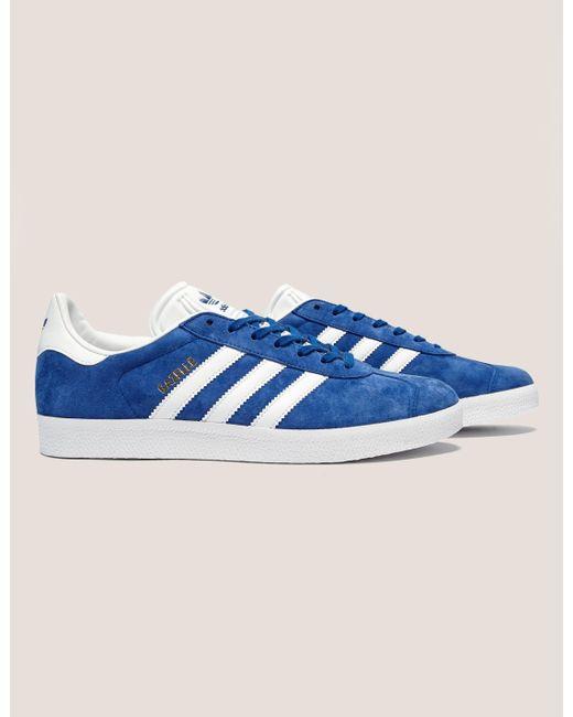 best loved 7afd3 c8c6d Adidas Originals - Gazelle Blue for Men - Lyst ...