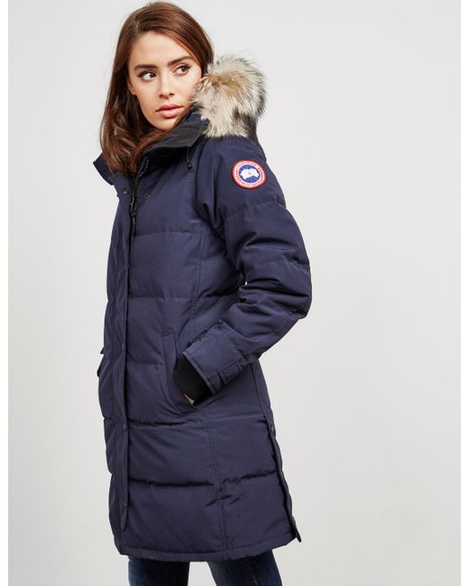 blue canada goose jacket womens