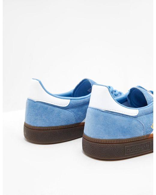 new products b2365 3f3e9 ... Adidas Originals - Handball Spezial Blue for Men - Lyst ...