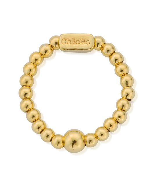 ChloBo - Metallic Mini Ball Ring - Lyst
