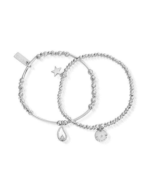 ChloBo - Metallic Balance Set Of 2 Bracelets - Lyst