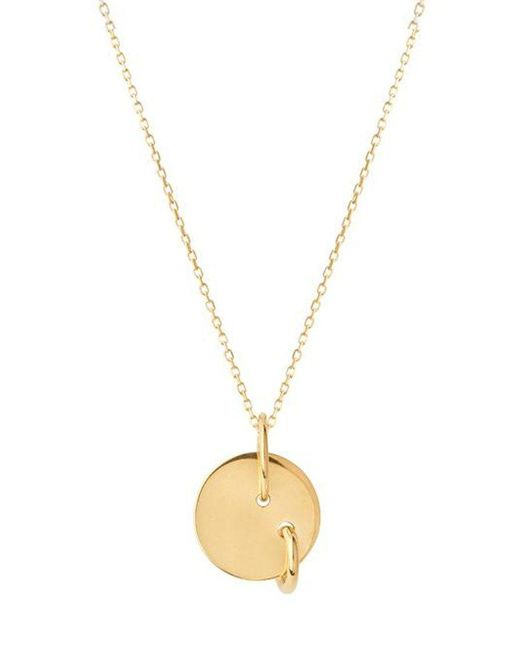 Maria Black - Metallic Gold-plated Edison Necklace - Lyst