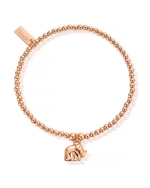 ChloBo - Multicolor Cute Charm Mini Elephant Bracelet - Lyst