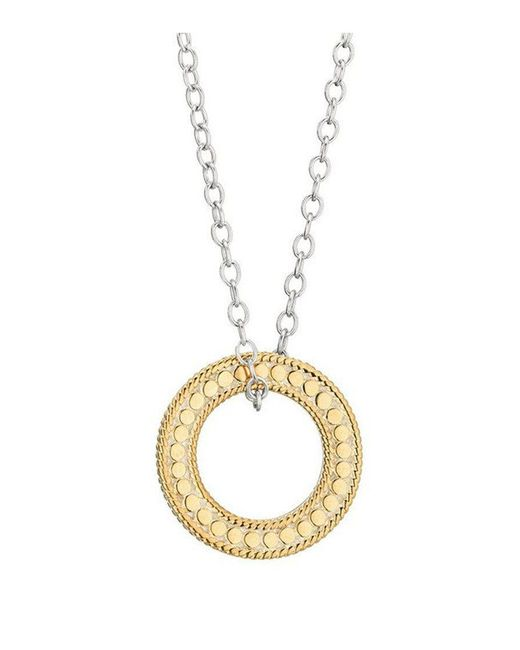 Anna Beck - Metallic Circle Of Life Charity Necklace - Lyst