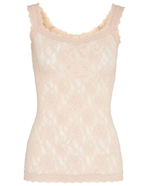 Hanky Panky - Natural Unlined Lace Cami - Lyst