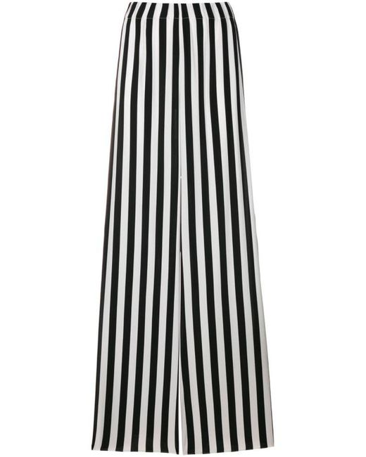 Federica Tosi striped wide-leg trousers Discounts Online eyFHZHmcH2