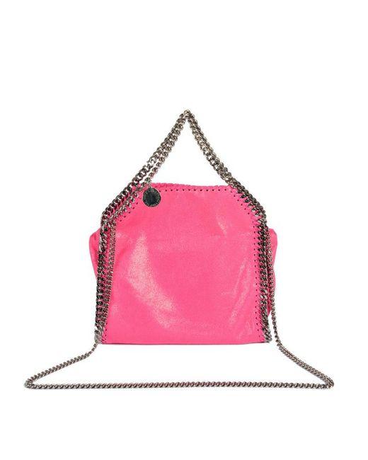 1ee093b911ad Stella McCartney - Pink Mini Tote SHAGGY Deer Falabella - Lyst ...