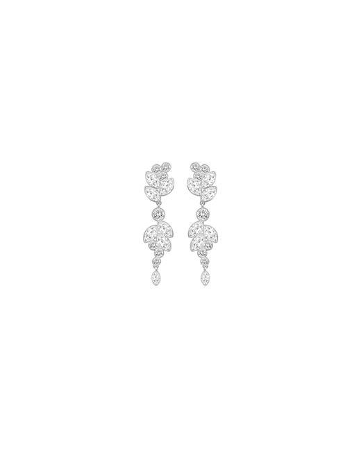 Swarovski | Metallic Diapason Drop Earrings | Lyst