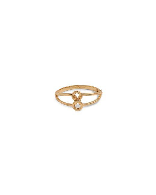 Anne Klein   Metallic Goldtone Circular Bracelet   Lyst
