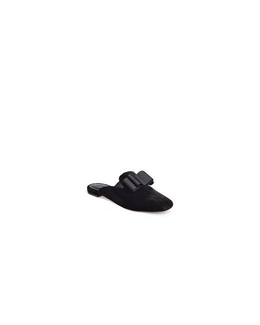 Joie   Black Jean Velvet Loafers   Lyst