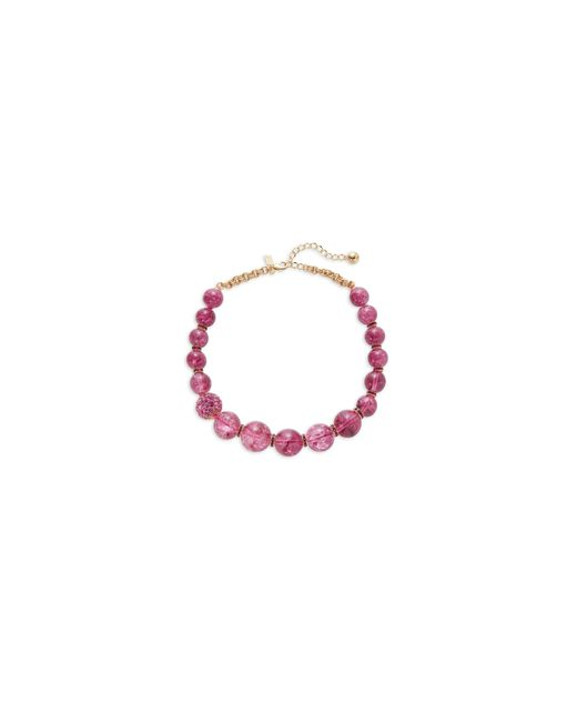 Kate Spade | Pink True Colours Bead Necklace | Lyst