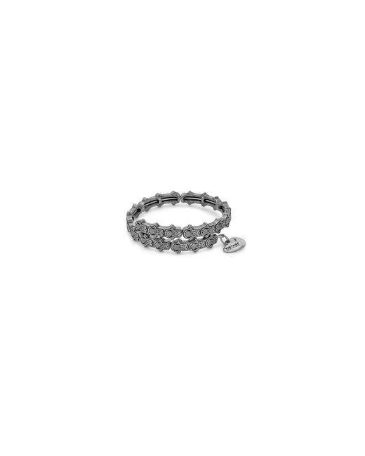 ALEX AND ANI | Metallic Hand Of Fatima Wrap Bracelet | Lyst