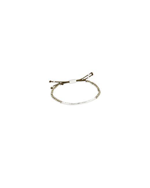 Gorjana | Metallic Power Gemstone Beaded Pyrite Bracelet | Lyst