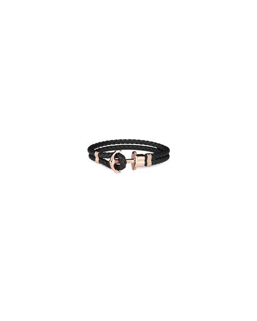 Paul Hewitt - Black Maritime Braided Bracelet for Men - Lyst