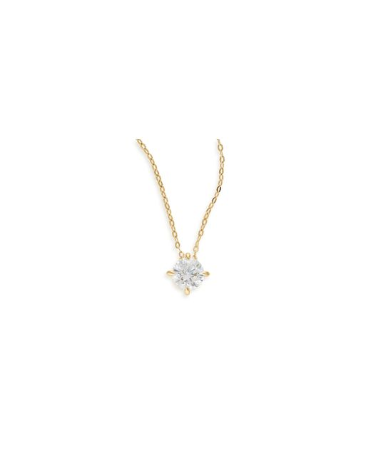 Nadri | Metallic Goldtone Round Cut Necklace | Lyst