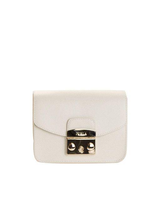 Furla - White Metropolis Bag - Lyst