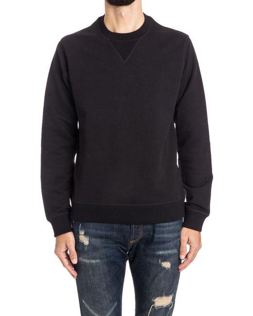 KENZO - Black Cotton Sweatshirt for Men - Lyst