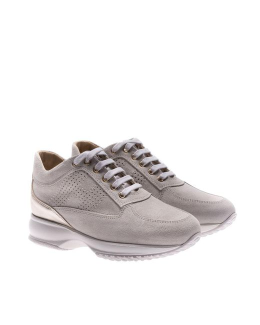 Hogan - Gray Ice Color Interactive Sneakers - Lyst