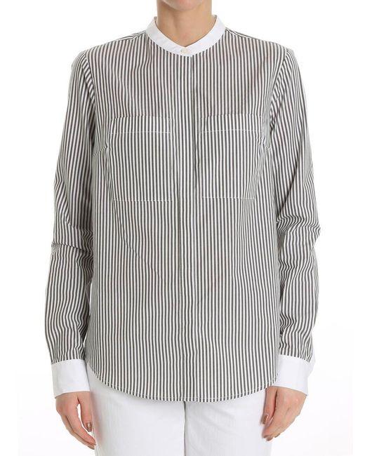 Michael Kors - Multicolor Striped Shirt - Lyst