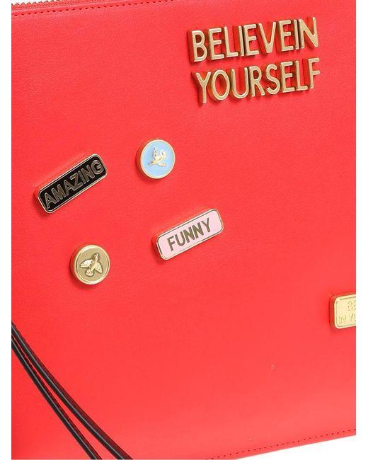 Pinko Red Schiamazzo clutch bag YoU8wc2