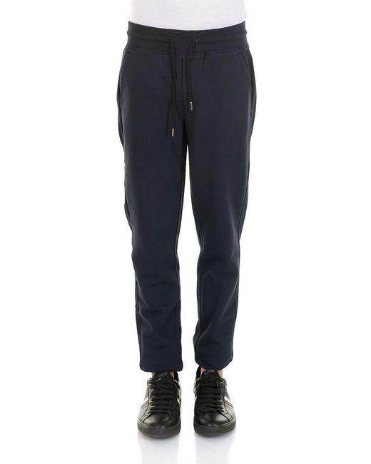 Moncler - Blue Sweat Pants for Men - Lyst