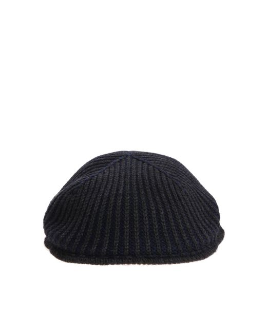 Altea - Blue And Grey Beret for Men - Lyst