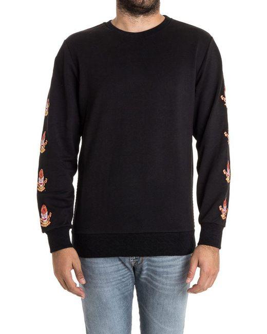 Les Benjamins - Black Liank Sweatshirt for Men - Lyst