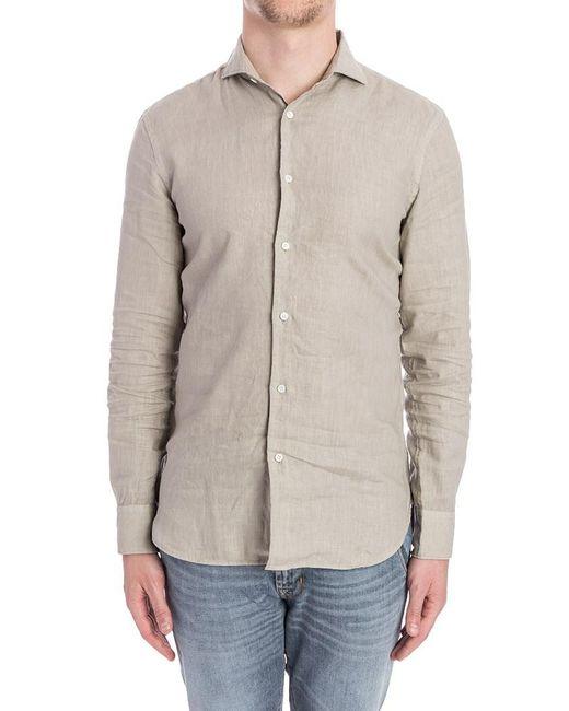 Aspesi - Multicolor Linen Shirt for Men - Lyst