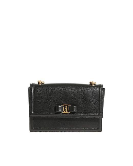 Ferragamo - Black Ginny Bag - Lyst