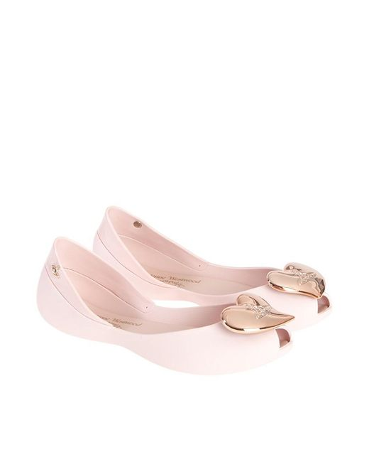 Melissa + Vivienne Westwood Anglomania - Pink Queen Ii Flats - Lyst