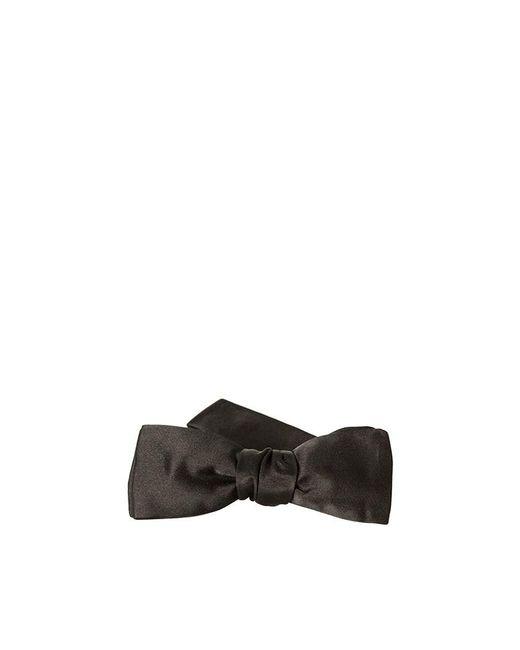 Saint Laurent - Multicolor Silk Bow Tie for Men - Lyst