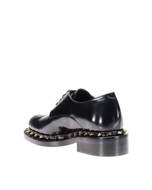 Paloma Barceló Brossé Chaussures Derby En Cuir WV05KN