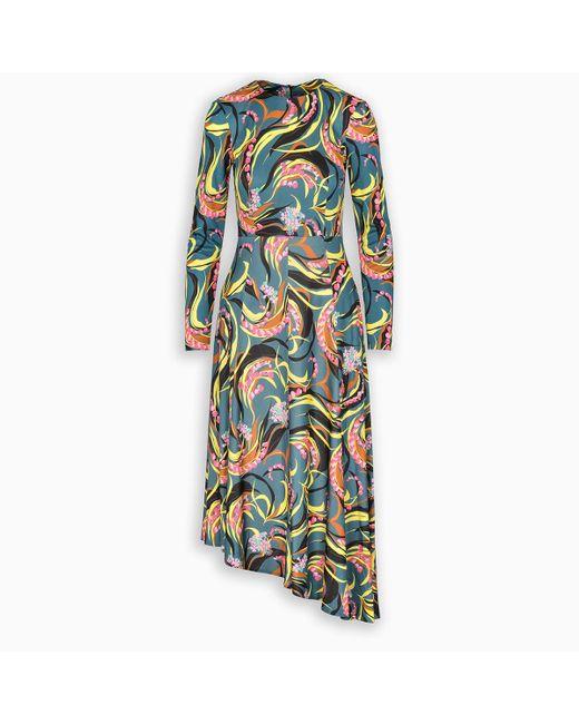 LaDoubleJ Multicolor Pina Long Dress