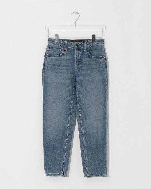 39126b39e3a6 ... Alexander Wang - Blue Ride Cropped Jeans - Lyst ...