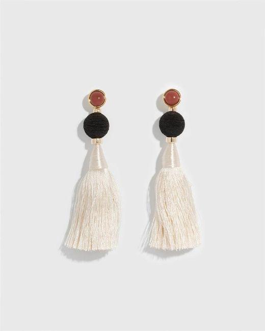 Lizzie Fortunato - Multicolor Puglia Fringe Earrings - Lyst