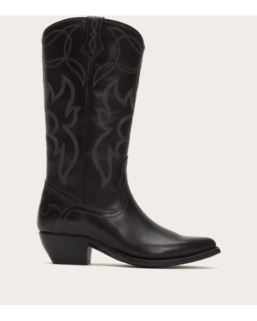Frye   Black Shane Embroidered Tall   Lyst