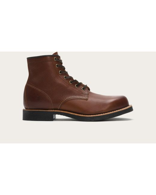 Frye | Brown Arkansas Mid Lace for Men | Lyst