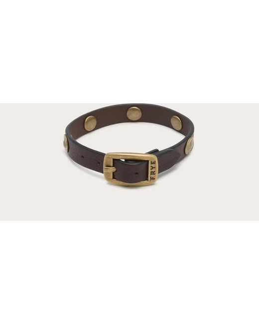 Frye | Brown Stud Wrap Cuff | Lyst