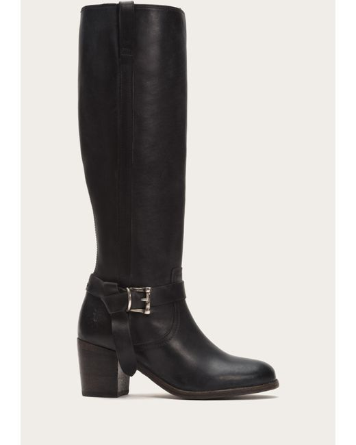 Frye   Black Malorie Knotted Tall   Lyst