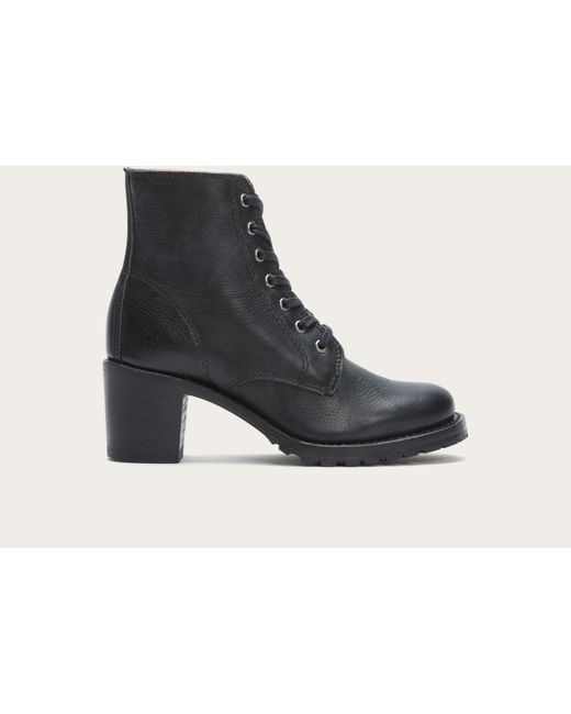Frye - Black Sabrina 6g Lace Up - Lyst